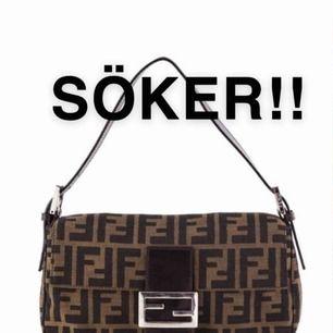 SÖKER!!! Söker en Fendi väska i vilken färg som helst, funkar även med Prada osv! Har du något snälla hör av dig🥺🥺💞💞💞