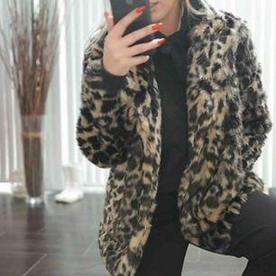 Snygg leopard jacka från Linn ahlborgs kollektion, helt oanvänd endast testad🌸