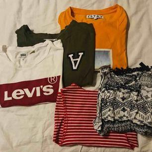 T-shirts och linnen, fråga om pris (från 20kr)
