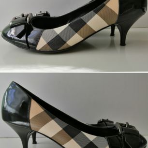 Burberry pumps, excellent condition, authentic, black,    size 36, insole 23cm, high heels 5cm, write me for more info :)