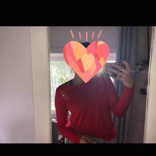 Fin röd helt vanlig tröja
