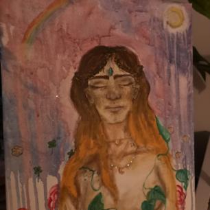 Egenmålad tavla
