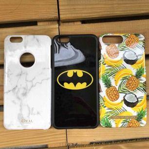 Mobilskal, iPhone 6s Plus samt 8 plus Kan mötas upp i Malmö men även frakta, köparen står för frakten!:)