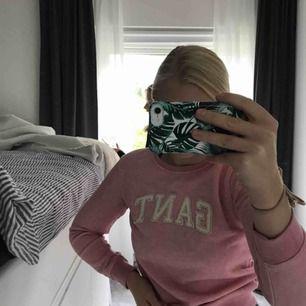 Rosa guldig gant tröja knappt använd, nypris 550kr   Kontakta mig vid frågor🥰