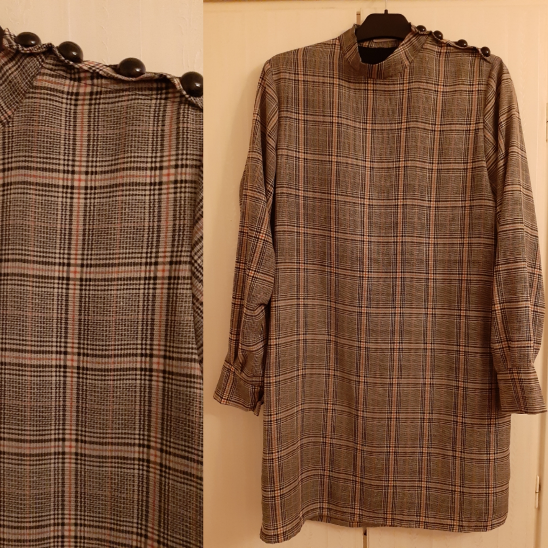 I bought this in Madrid. Light fabric. Klänningar.