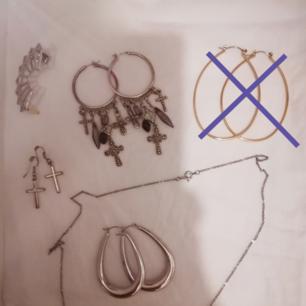 Earings & necklace, between 10 - 20kr !!!!