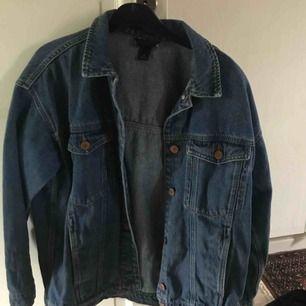 Oversize jeansjacka från monki:) frakt tillkommer