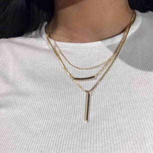säljer detta halsbandet från h&m. Aldrig använt! Frakt är inkluderat i priset😊