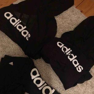 Tre olika adidas tröjor Alla i storlek S Alla för 200kr eller 90kr styck