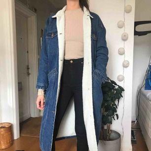 Jeans kappa med teddy foder