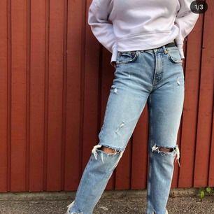 Jeans från zara Oanvända  Är 162 Frakt till kommer
