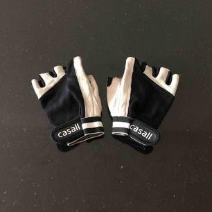 Äkta skinn tränings handskar ifrån Casall 🏋🏻♀️