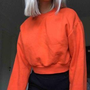 snygg orange tröja från hm i jätte skönt material!! Köpt för längesen. Fortfarande som ny då den inte använts så mycket :) bild 1 är typ så som färgen är i verkligheten! Köparen står för frakten