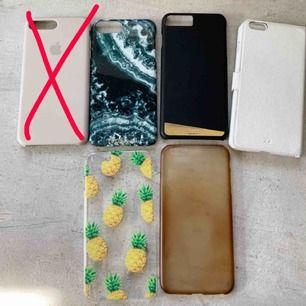 Säljer mina skal för min gamla telefon, iPhone 6S plus! 50 kr per skal! Alla är i fint skick!
