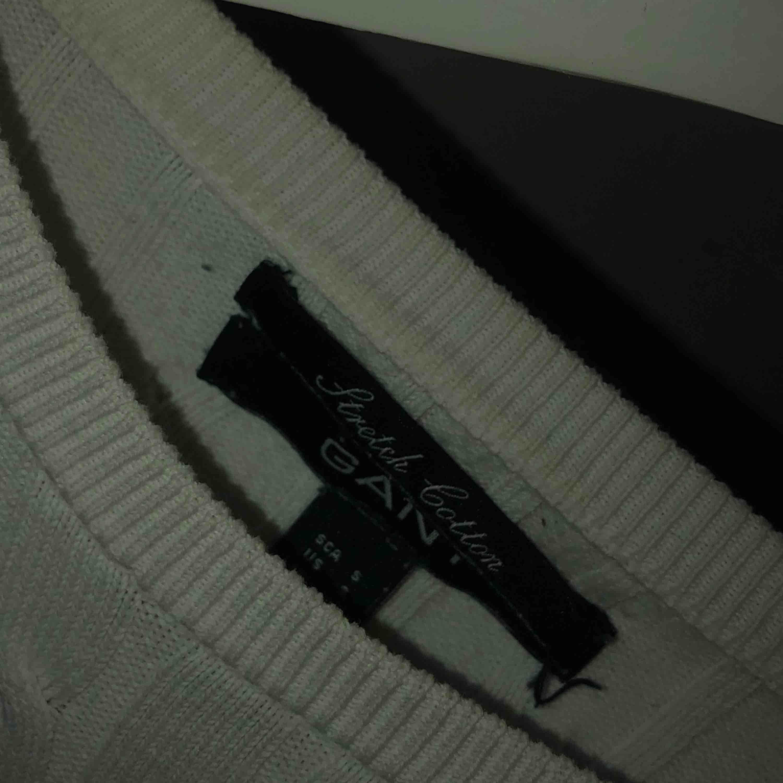 Gant tröja stickad, nypris: 1200kr. Stickat.