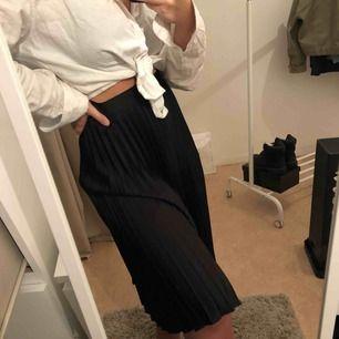 Supersnygg plisserad kjol från ZARA i storlek M. Dold dragkedja i midjan. Använt fåtal gånger så den är så gott som ny. (Köpt för 350)🔥