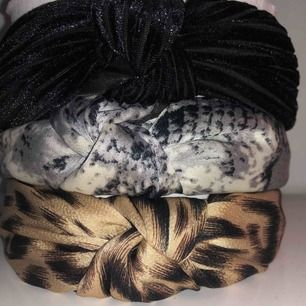 Leopard och svarta sålda! Säljer snake diademet! 40kr plus frakt på 9kr