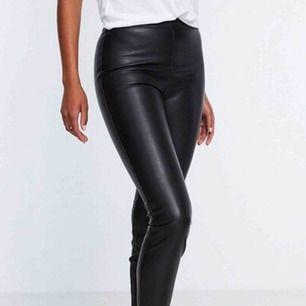 byxor i läderimitation!!! 🖤