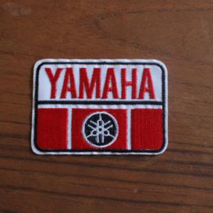 Yamaha tygmärke, 25kr inkl frakt!