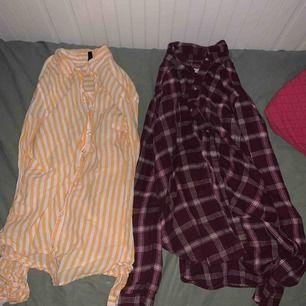 Säljer två kjortor!   Den gula är från Hm! Och den andra från hollister.  60kr för en eller 100 för båda.
