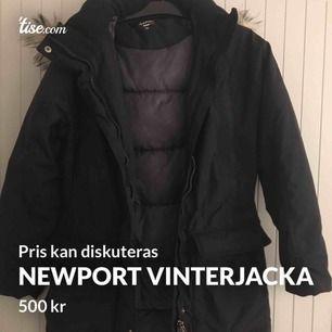 Vinterjacka från Newport i storlek 36 i väldigt bra skick. Håller värmen bra!  Pris kan diskuteras.   Borås/Göteborg