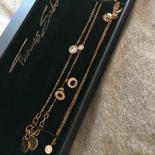 2 armband+ halsband+ örhängen från Edblad i rosé med strass  Använda fåtal gånger  Köpare betalar frakt  Ny pris för allt ca. 900kr