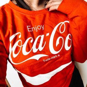 Coca-Cola sweatshirt i använd fåtal gånger