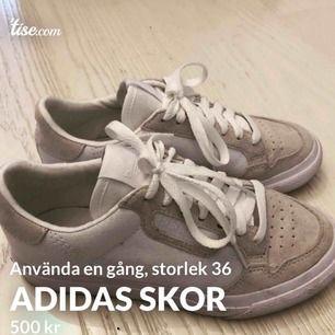 Använda en gång adidas skor