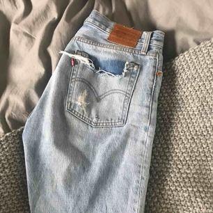 Levis jeans i modellen wedgie straight strl 28 Säljer pga för stora för mig Pris kan diskuteras!