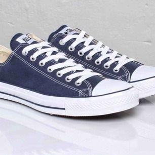 Har ett par nästan oanvända converse som inte har kommit till användning. Skriv för bild på skorna!!!
