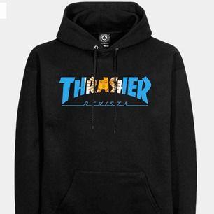 Hejsan!:) Söker äkta thrasher hoodie, till ett rimligt pris! Skicka gärna bild och ni har någon. Vill helst ha hoodie eller sweatshirt, så om du inte har det behöver du inte lägga din tid på mig:) tack på förhand:) stl. S-L