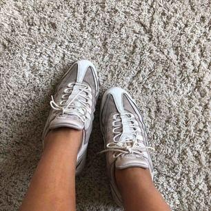 Nike air Max 95 storlek 38. Begagnat skick alltså använda. Säljs pga lite försmå.
