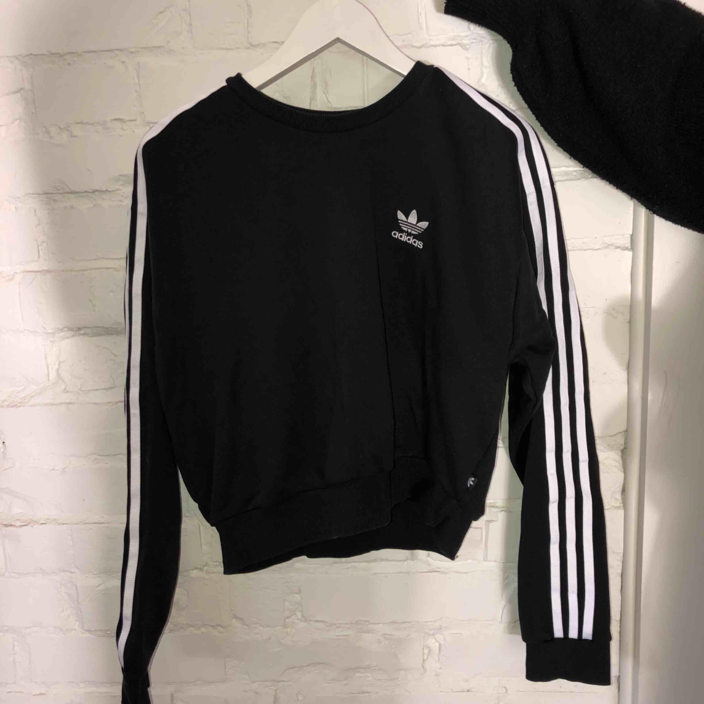 Tröja från Adidas i gott skick Använd fåtal gånger . Tröjor & Koftor.