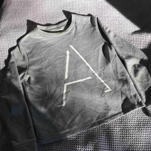 Fin grå tröja med ett A på i bra skick och inte använd många gånger