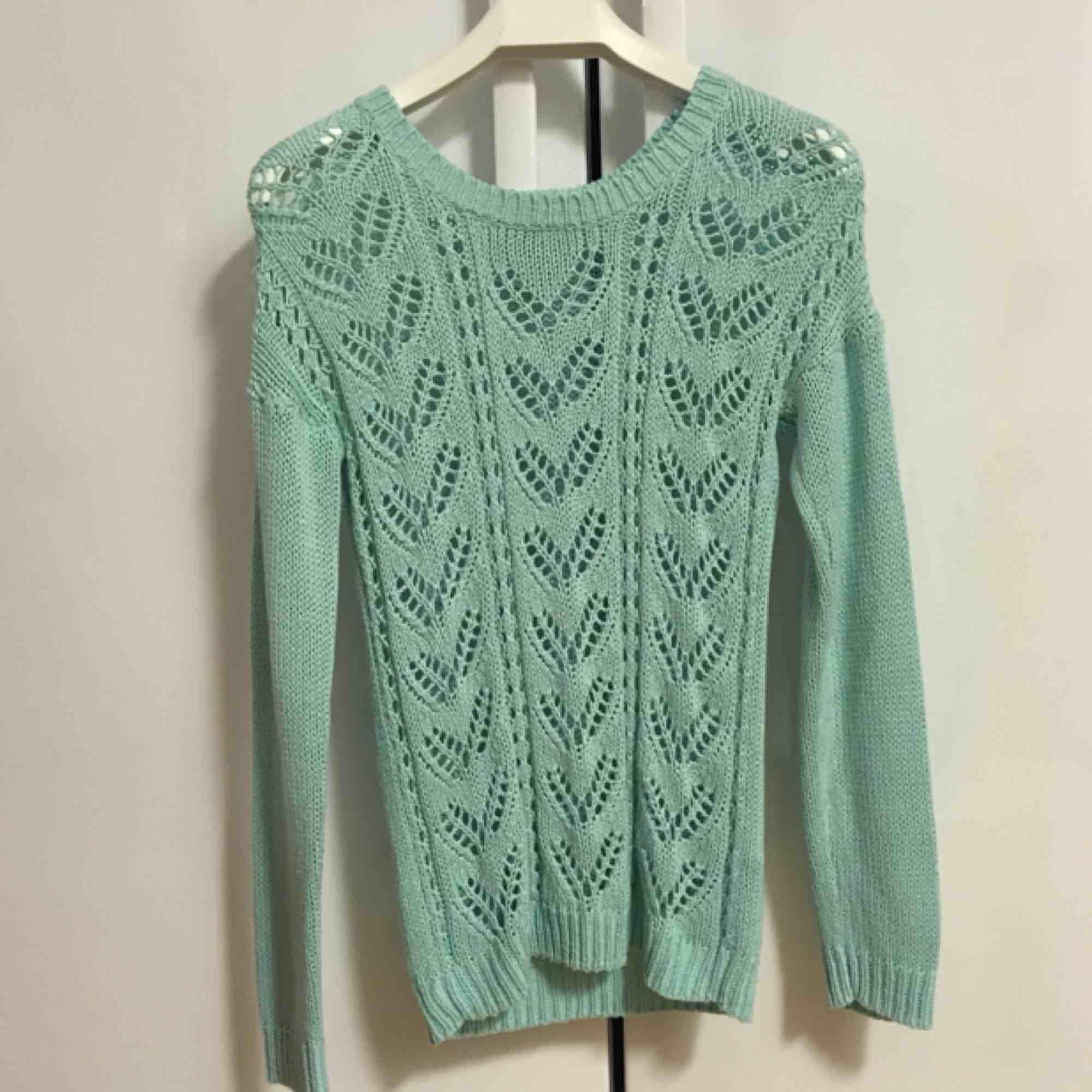 Grön tröja från Rut m.fl / Rut & circle. . Stickat.