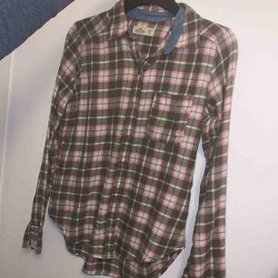 Hollister flanell skjorta