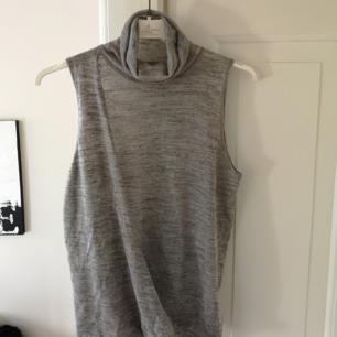Stickad tröja från Zara i grått