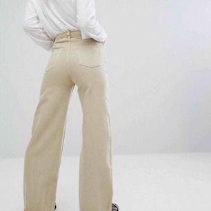 Weekday Ace Jeans, storlek 25x30, färg sand
