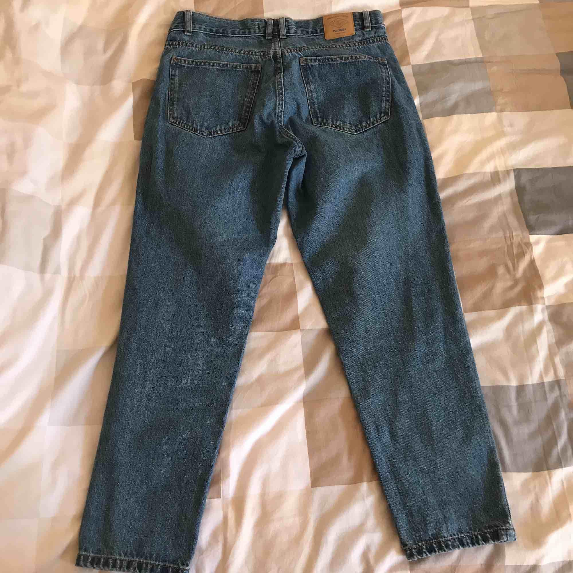 Hög midjas Mom jeans.  Har haft på mig de ett par gånger men de är i en jätte bra skick! . Jeans & Byxor.