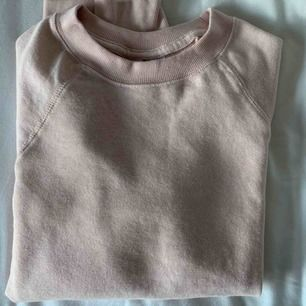 Ljusrosa collage tröja från HM