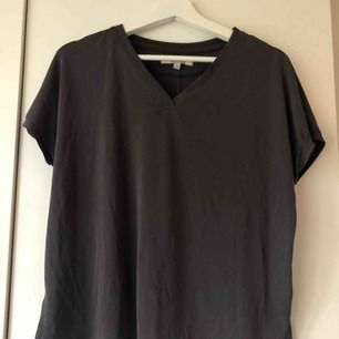 Basic t-shirt som jag köpt på Ullared. Så himla skönt material 😍 men kommer tyvärr inte till användning. Använd några gånger hemma bara. Storlek S, 30kr