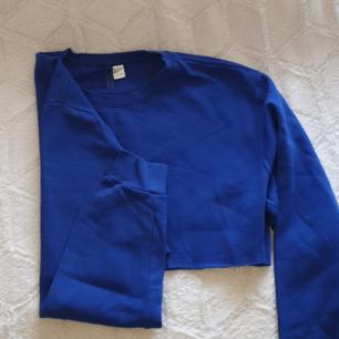 Cropped sweatshirt, pris inkl frakt