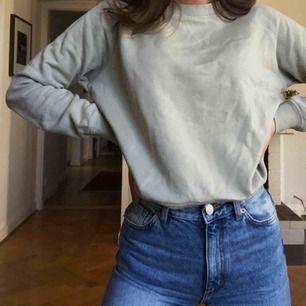 Mintgrön sweatshirt