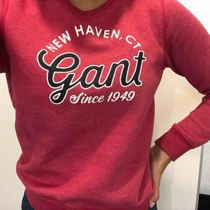 En gullig rosa tröja från Gant, använd men i mycket bra skick! I storleken motsvarar det ungefär en stor XS!