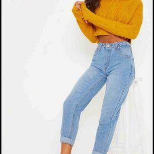 HELT NYA boyfriend jeans! • Storlek 8 (36)  Säljer då jag gått upp i vikt och aldrig hann ha dessa! Nypris: 400kr!!