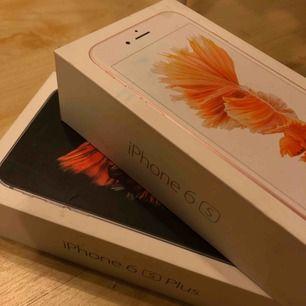 Paket till iphone 6s + och iphone 6s  60kr styck, eller paketpris 100kr  Kan frakta eller mötas i Gbg🌸