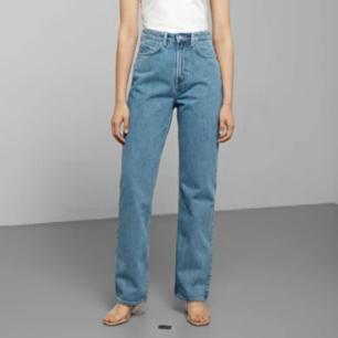 Säljer mina knappt använda jeans från weekday då de är fel storlek för mig.  Kan mötas upp på södermalm