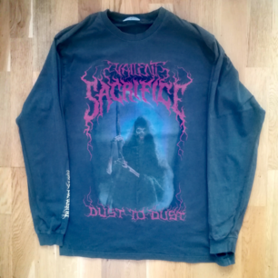 Amazing Tshirt with long sleeves, had only once..its a dark grey color, great condition in size M. 145:- post included