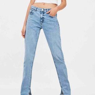 Jeans från zara med slit nertill! Slutsålda på hemsidan! Nypris -600