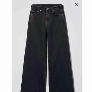 Weekday Ace jeans 25/30 svart. möts upp stockholm eller skickas